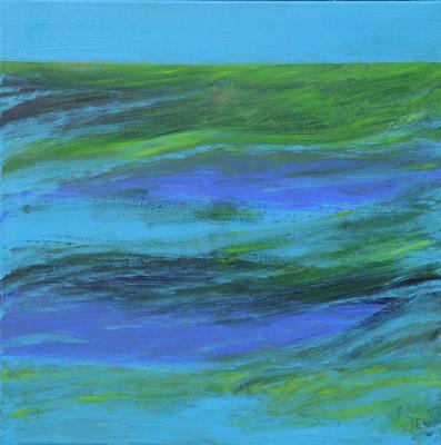 Pauwblauw
